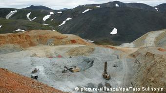 Рудник Валунистый - один из четырех золотых рудников Абрамовича на Чукотке