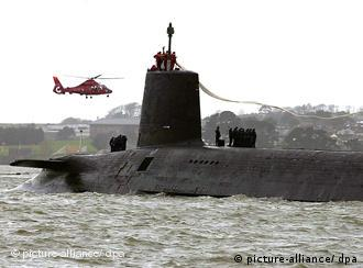 HMS Vanguard submarine