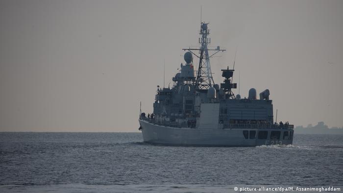 Fregatte Augsburg läuft zur Operation Sophia aus NEU