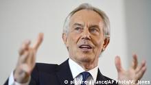 UK ehem. Premierminister Blair