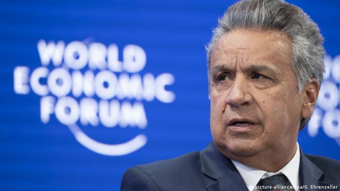 Weltwirtschaftsforum in Davos | Ecuadorianischer Präsident Lenin Moreno