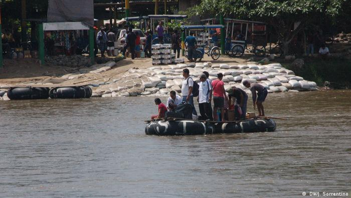 Mexiko Migranten auf dem Weg Richtung USA