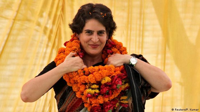 Indien Priyanka Gandhi (Reuters/P. Kumar)