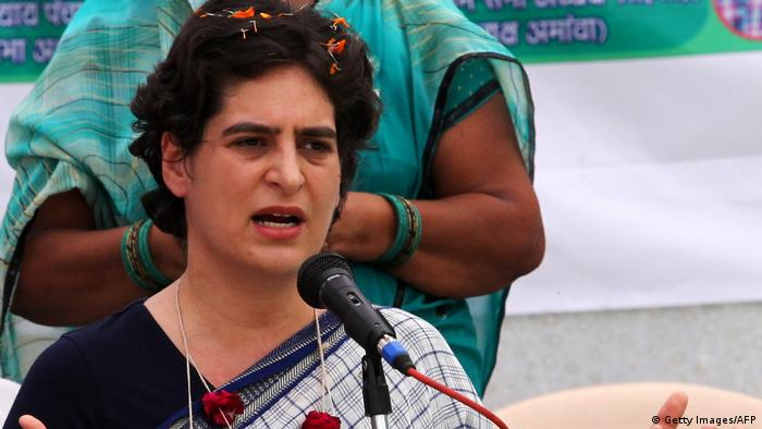Indien Priyanka Gandhi (Getty Images/AFP)