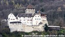 Liechtenstein Schloss Vaduz