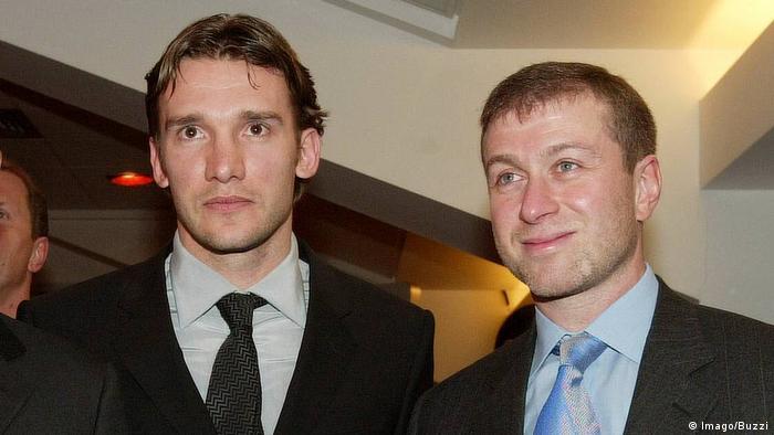 Андрій Шевченко (ліворуч) та Роман Абрамович (фото з архіву)