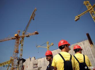 Baustelle am AKW in Belene (Foto: dpa)