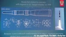 Russland Pressekonferenz zur Vorstellung neuer Raketen