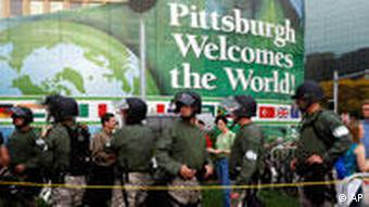 G20 Gipfel in Pittsburgh USA 2009
