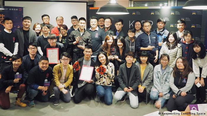 Taiwan LGBT startup competition (Keepworking Coworking Space)