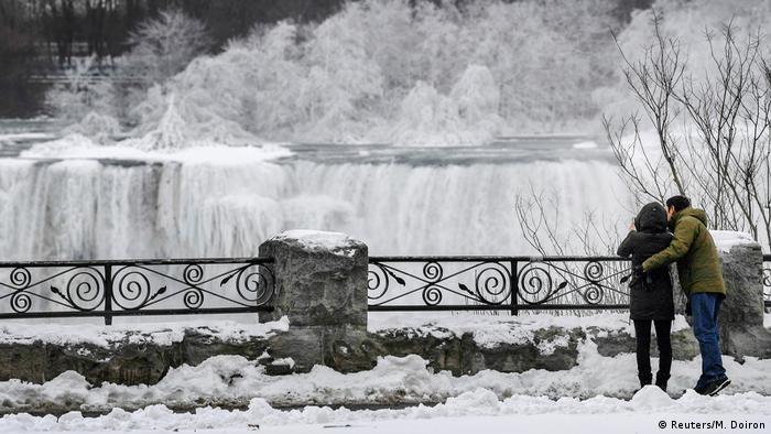 Kanada Vereiste Niagarafälle (Reuters/M. Doiron)