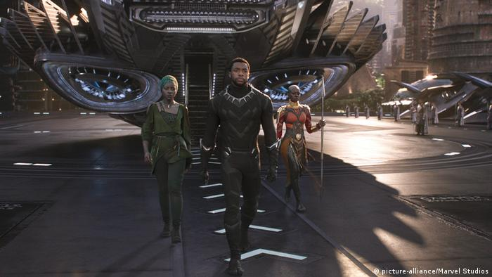Film still from Black Panther (picture-alliance/Marvel Studios)