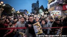 Taiwan 2016 Anhänger von Freddy Lim, New Power Party