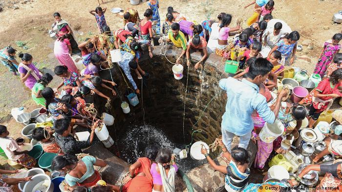 Wassermangel in Indien (Getty Images/AFP/I. Mukherejee)