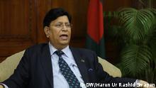 23.01.2019 +++ AK Abdul Momen, Bangladesh Foreign Minister Copyright: Harun Ur Rashid Swapan