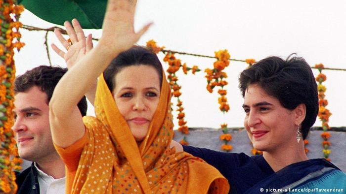 BG Indien Priyanka Gandhi (picture-alliance/dpa/Raveendran)