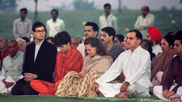 BG Indien Priyanka Gandhi (Getty Images/AFP/D.E. Curran)