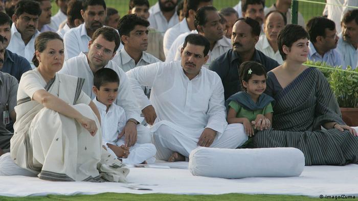 BG Indien Priyanka Gandhi (Imago/Zuma)