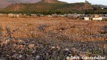 23.01.2019, Äthiopien, Demolished historical site at May Adrash, in Tigrai region, Ethiopia