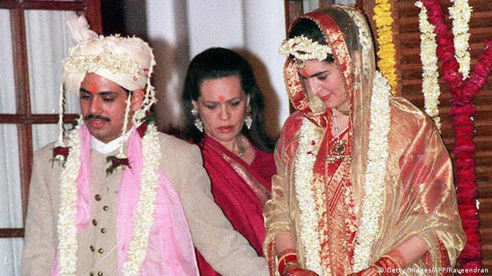 BG Indien Priyanka Gandhi (Getty Images/AFP/Raveendran)