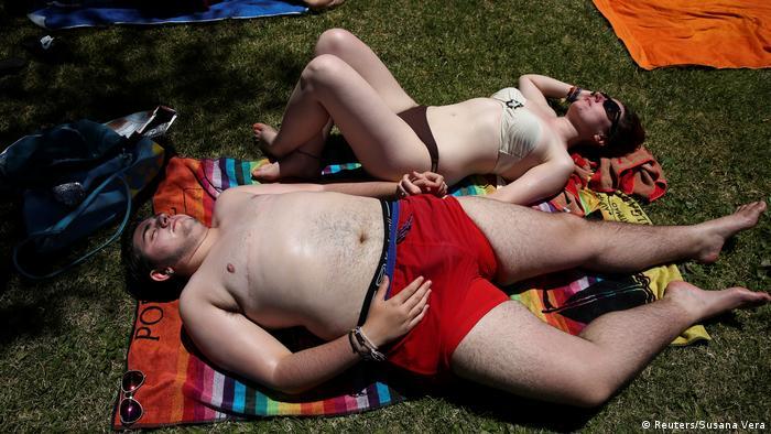 Spanien Gabriel Diaz de Tudanca ist ein 19-jähriger Transgender / vom Mädchen zu Mann (Reuters/Susana Vera)