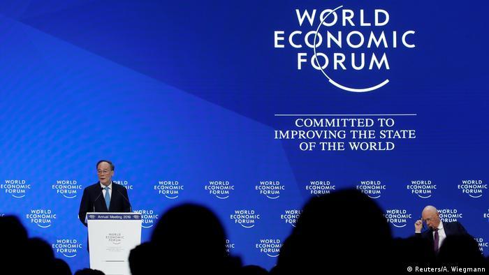 Weltwirtschaftsforum 2019 in Davos | Wang Qishan, Vizepräsident China (Reuters/A. Wiegmann)
