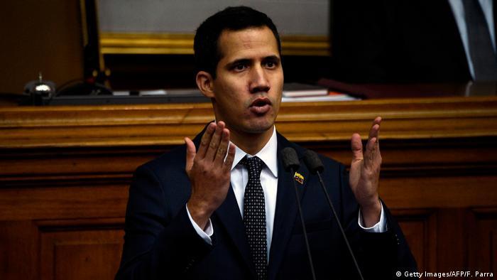 Venezuela Juan Guaido (Getty Images/AFP/F. Parra)
