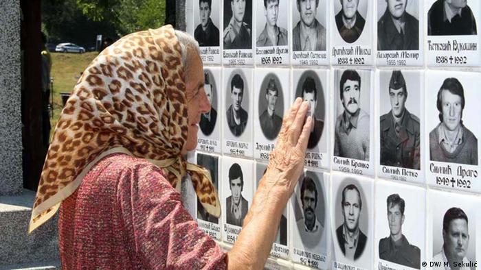 Verbrechen an Serben um Srebrenica 1992/93, Bosnien Herzegowina (DW/ M. Sekulić)