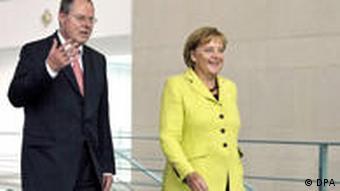 Bundeskanzlerin Angela Merkel (CDU) und Bundesfinanzminister Peer Steinbrück (SPD)