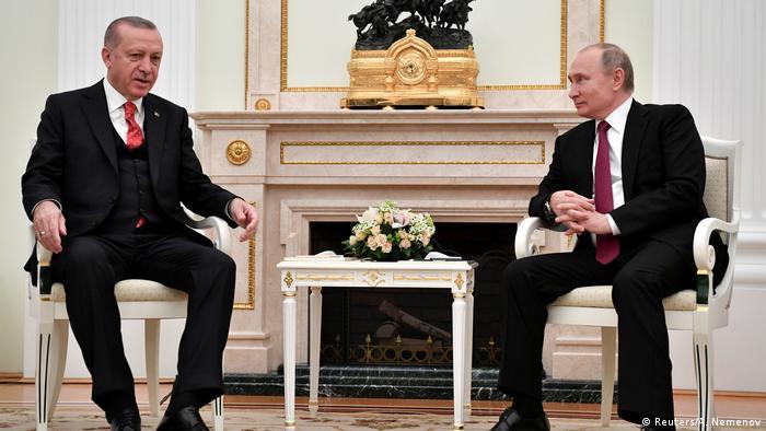 Recep Tayyip Erdoğan ve Vladimir Putin