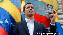 Venezuela Juan Guaido, vorläufiger Präsident in Caracas