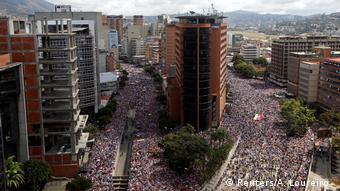 Венесуэла: демонстрация против Мадуро в Каракасе