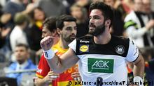 Handball WM 2019 | Deutschland vs. Spanien | Tim Suton (picture-alliance/dpa/F. Gambarini)