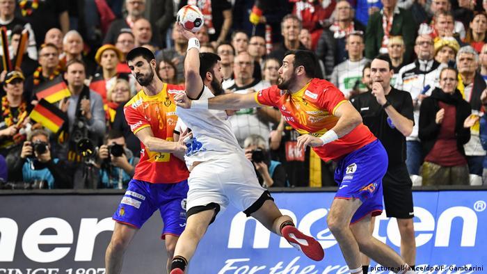 Handball WM 2019   Deutschland vs. Spanien   Tim Suton