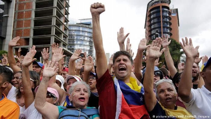 Venezuela Anti-Regierungs-Proteste in Caracas