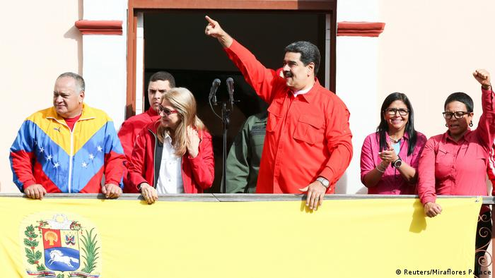 Bildergalerie Venezuela Proteste Nicolas Maduro