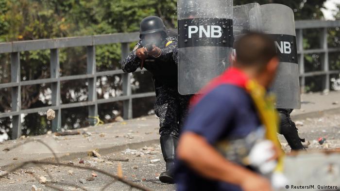 Bildergalerie Venezuela Proteste (Reuters/M. Quintero)