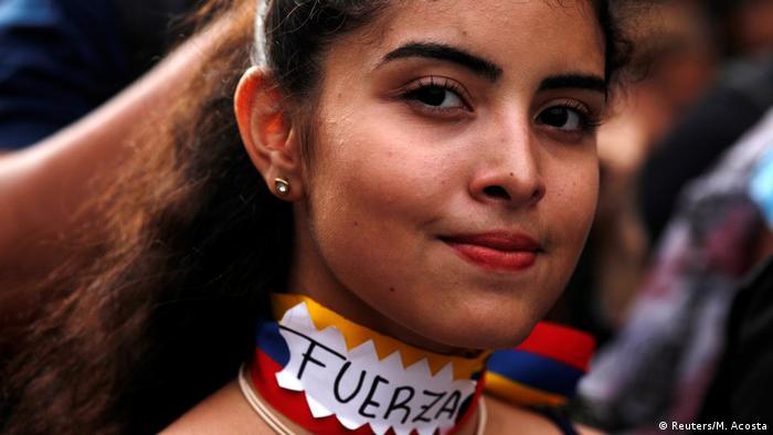 Bildergalerie Venezuela Proteste Diaspora (Reuters/M. Acosta)