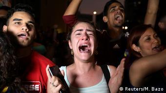 Bildergalerie Venezuela Proteste Diaspora (Reuters/M. Bazo)