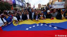 People gather in support of Venezuela's opposition leader Juan Guaido, in Bogota, Colombia January 23, 2019. REUTERS/Luisa Gonzalez