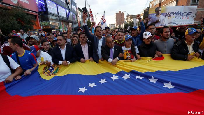Bildergalerie Venezuela Proteste Diaspora (Reuters/)