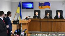 Ukraine Urteilsverkündung gegen den ukrainischen Ex-Präsidenten Viktor Janukowitsch wegen Hochverrats