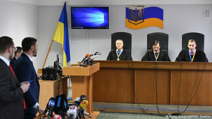 Lawyers for Yanukovych were in attendance in Kyiv as the judges delivered the sentence