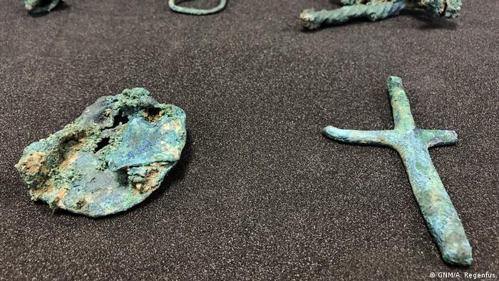 Germanisches Nationalmuseum Nürnberg - Überresten eines sogenannten Wagengrabes