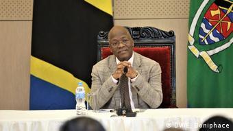 Tanzania - Tansanias Präsident John Magufuli
