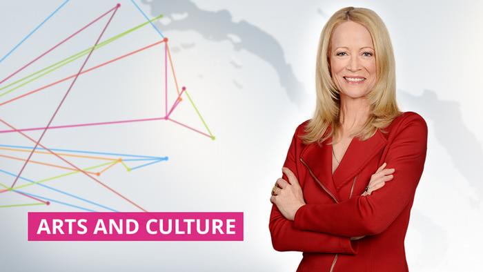 DW Arts and Culture Moderatorin Karin Helmstaedt (Artikelbild)