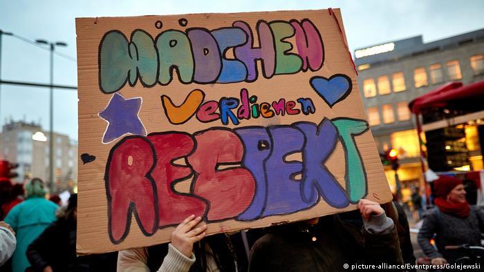 Women's Day rally in Berlin