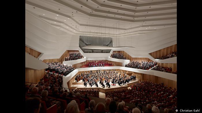 Blick in den neuen Konzertsaal des Dresdner Kulturpalastes ( Christian Gahl )