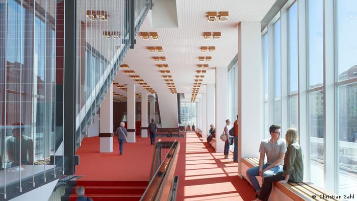 Blick in den Blick in den Dresdner Kulturpalast