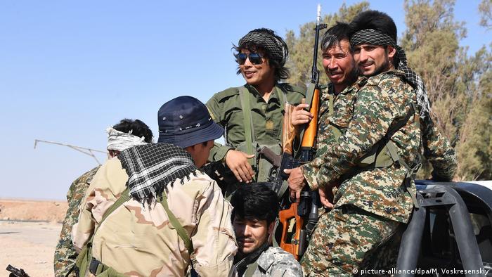 Syrien Liwa Fatemiyoun Kämpfer